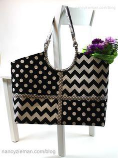 How to Sew Handbags and Totes/Hobo tote/Nancy Zieman | Nancy Zieman Blog