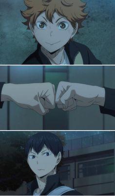 Discovered by Find images and videos about anime, kagehina and haikyuu 2 season on We Heart It - the app to get lost in what you love. Kagehina, Kageyama X Hinata, Haikyuu Karasuno, Haikyuu Fanart, Haikyuu Ships, Haikyuu Anime, Anime Love, Anime Guys, Manga Anime
