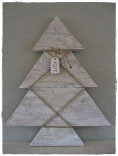 Steigerhout kerstboom