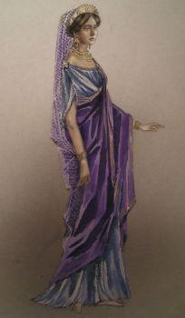 A Roman woman by edarlein