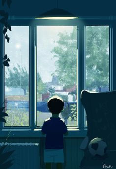 childhood digital art by Pascal Campion Pascal Campion, Color Script, Love Wallpaper, Anime Scenery, Illustrations And Posters, Digital Illustration, Family Illustration, Aesthetic Anime, Art Reference
