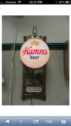 Hamm' beer light