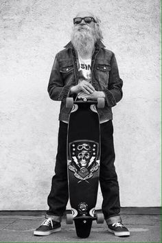 """#Longboarding #LandPaddling Are """"Not Age Appropriate"""" Agreed ?"""