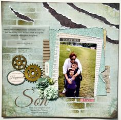 Kaisercraft Generations. Christmas Paper, Christmas Projects, Lil Boy, Jingle All The Way, Scrapbooking, Scrapbook Layouts, Jingle Bells, Great Photos, Give It To Me