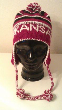 SOLD - University of Arkansas ear flap hat
