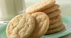 Vanilla Sugar Cookies: For an additional flourish, decorate these no-roll sugar cookies with homemade Colored Sugar (recipe follows) or Sugar Cookie Icing.