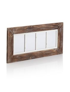 Driftwood 4 Aperture Photo Frame | M&S