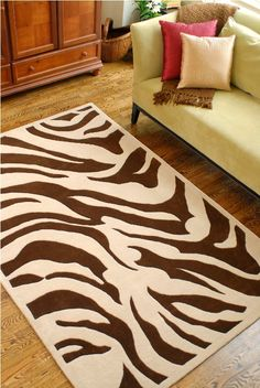 19 Best Animal Print Rugs Images