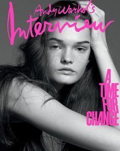 Beauty Editorial, Editorial Fashion, Text Portrait, Fabien Baron, David Sims, Templer, Iris Van Herpen, Fashion Cover, Magazine Editorial