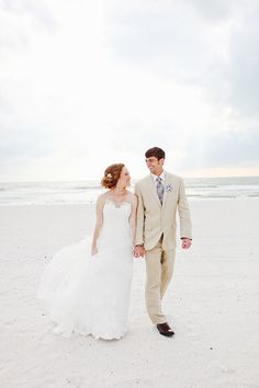 bride and groom dreamy beach wedding photography