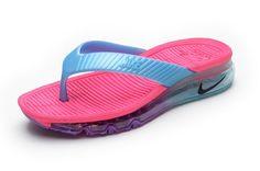 177e551e915e Women Nike Air Max Flip Flops Cheap Nike Sandals Cheap Slides Pink Blue
