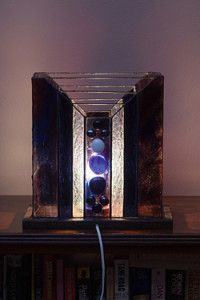 Creative Company | Classy Glass Art: Two-panelled lampshade