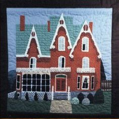 After making my first finished quilt – a simple checkerboard quilt – I joined several quilt guilds in 1991. The guest speaker at the second meeting I attended talked about architecture in quilting. This collided with my love of Victorian homes, so I went home and made my second quilt, the Victorian Manor quilt. This quilt impressed one of the guilds enough they asked me to make up a workshop to teach my method…and my Victorian House workshop & pattern was born.