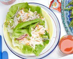 mock crab salad wraps mock crab salad wraps more penny s recipes ...