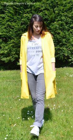 tello_jacket_pauline_alice_7 Couture, Marie, Duster Coat, Bomber Jacket, Yellow, Jackets, Fashion, Dress, Boss