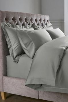 Buy 600 Thread Count Cotton Sateen Collection Luxe Bed Set from the Next UK online shop