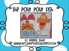 Have you read, The Pout-Pout fish by Debra Diesen? It is a class favorite! You will need to purchase the book or check with your school library. This mini-unit includes a directed drawing activity, 5 writing response sheets and a making words activity. Too Cool For School, School Fun, School Ideas, Summer School, School Stuff, Kindergarten Literacy, Literacy Activities, Preschool, Ocean Activities
