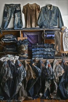 Visual Merchandising | Denim Display