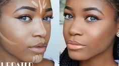 beauty with vee contour - YouTube