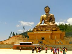 Buddha view point, Budhha statue, thimphu, bhutan