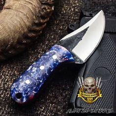 ALONZO KNIVES USA CUSTOM HANDMADE TACTICAL SKINNER 1095 KNIFE CORELON 3137 #AlonzoKnives