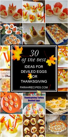 Deviled Eggs for Thanksgiving . 30 Of the Best Ideas for Deviled Eggs for Thanksgiving . Happier Than A Pig In Mud My attempt at Deviled Egg Crab Deviled Eggs Recipe, Fried Deviled Eggs, Thanksgiving Deviled Eggs, Devilled Eggs Recipe Best, Bacon Deviled Eggs, Best Thanksgiving Side Dishes, Thanksgiving Dinner Recipes, Thanksgiving Turkey