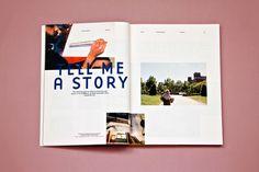 We Are Neighbours Magazine by Manu Rodriguez, via Behance