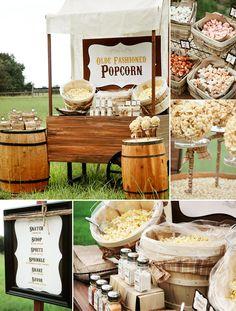 Makea - Hääblogi: Popcorn buffet