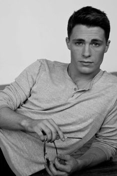 I will marry this man. Colton Haynes <3