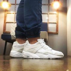 PUMA BLAZE white, disponibles en CIENTO-SIETE streetwear!!! Ven a por ellas!! #puma #pumablaze #cientosiete #cientosiete107 #streetwear #streetstyle #sneakers #urbanstyle #ourense #galicia