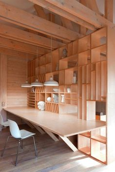 Feb 2020 - Scandinavian and Japanese minimalism for interior inspiration. See more ideas about Interior, Interior inspiration and House design. Bureau Design, Interior Architecture, Interior And Exterior, Interior Design, Architecture Student, Futuristic Architecture, Interior Paint, Home Office Design, House Design