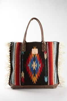 Will Leather Fringe Tote