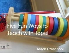 Five fun ways to teach with tape
