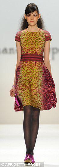 NANETTE LEPORE - inspiration for a knitted dress