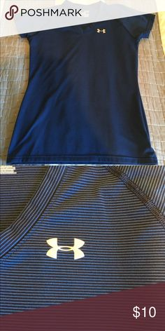 Under Armour tshirt Semi-Fitted Under Armour tshirt. Worn a couple times, in excellent condition! Under Armour Tops Tees - Short Sleeve