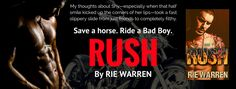 Twin Sisters Rockin' Book Reviews: New Release: Rush, Book #5 in Rie's Carolina Bad B...