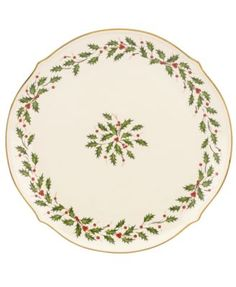 Lenox Holiday Round Platter