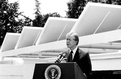 "In 1977, President Jimmy Carter declared that we were in the midst of an ""energy crisis"" that threatened to overwhelm us if we failed to act decisively. He created a Cabinet-level Department of Energy, funded alternative energy programs, even installed solar panels on the White House. Unfortunately, a few years later, Ronald Reagan made a point of undoing many of the significant and innovative initiatives championed by Carter, i.e., gutting energy programs, caving in to oil and auto . . . ."