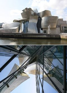 Guggenheim, Bilbao, Spain. Designed by Frank Gehry.