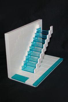 Vertical trasparent scale