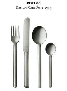 POTT 33 - Flatware silver