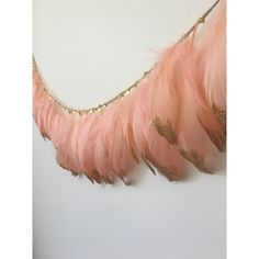 Gold Glitter Dipped Feather Garland by HarlowAndHunterShop on Etsy Feather Garland, Goose Feathers, Childrens Beds, Gold Glitter, Birthday, Etsy, Kids Cabin Beds, Birthdays, Dirt Bike Birthday