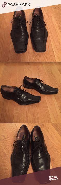Stacy Adams black leather dress shoes Black leather Stacy Adams dress shoes. Stacy Adams Shoes Loafers & Slip-Ons