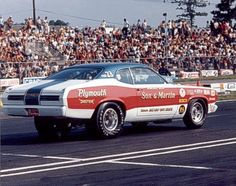 photos of sox & martin drag cars | ronnie sox sox martin 1972 plymouth duster pro stock at englishtown ...
