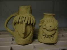 Mrs. Knight's Smartest Artists: clay face jugs with great video on history of the jug  http://video.pbs.org/video/1918318256