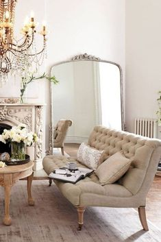 36 fancy french country living room decor ideas