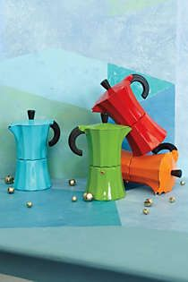 Anthropologie - Color Pop Coffee Pot