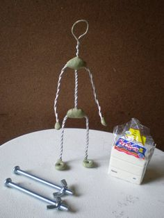 Stop Motion Puppets | ... is made. The internal structure of a stop-mo puppet. How to make one