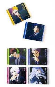 ハマトラ キャラクターソングCD File-01~06 CD Jacket Art Direction & Design:高山彩矢子(草野剛デザイン事務所)