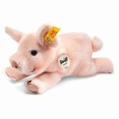 """Soft woven fur make little Sissi a keeper. Sissi is machine washable. 8.7"""" Steiff is a German Toy Company. Founded in 1880, Steiff was the originator of the jointed Teddy Bear in 1902. Their dolls are"""